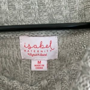 NWT maternity sweater